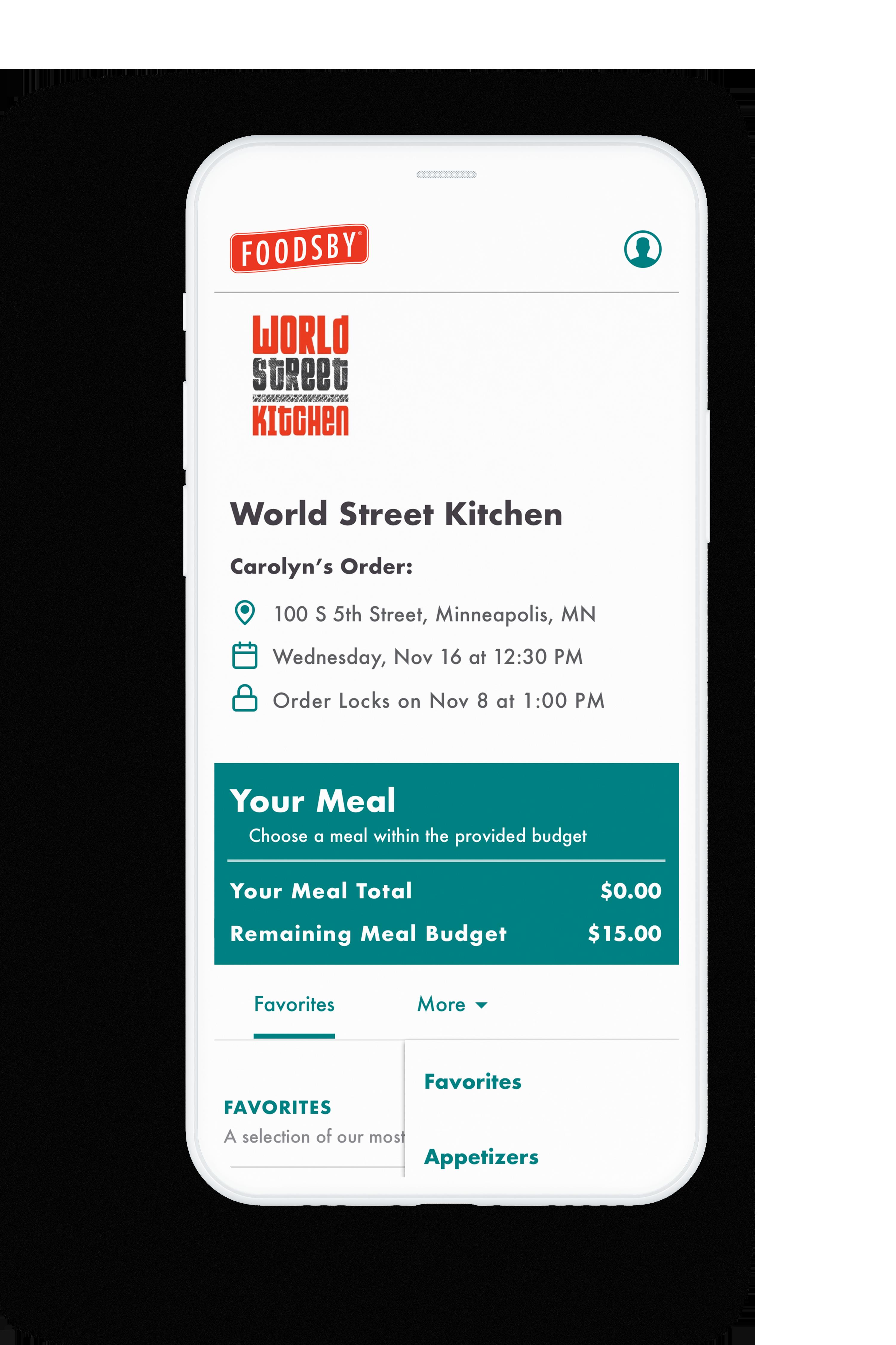 foodsby-iphonemock-order